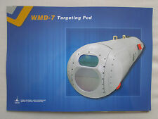 2015 DOCUMENT RECTO VERSO CHINA CATIC WMD-7 TARGETING POD IR TV LASER SENSOR