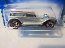"2002 Mattel Hot Wheels Redlines Silver ""The Demon"" Car 1969 Malaysia Base #103"