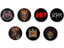 Lot Pack Badge Button Ø25mm Slayer Trash Metal US