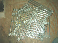 LIONEL  O27 GAUGE STRAIGHT TRACK 16 PIECES NICKEL PLATE SILVER TIE