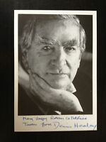 DENIS HEALEY - FORMER LABOUR POLITICIAN - SIGNED B/W PHOTOGRAPH