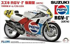 Fujimi Bike-13 1/12 Suzuki RGV-gamma XR74 1988 Team Pepsi Suzuki Rare from Japan