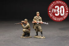 FIGARTI PEWTER WW2 RUSSIAN EFR-018 TWO RUSSIAN SOLDIERS UNDER FIRE MIB