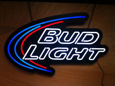 "Bud Light Beer LED Opti Neon Prestige - New In Box & Free Shipping - 31"" x 24"""