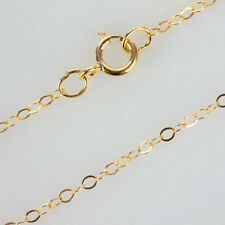 16 Inch 14K Gold Filled Cable Chain Necklace W/ Spring Clasp and Closed Rings