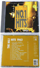THE NO.1 HITS 1962 - Little Eva, Tornados, Shadows, Tommy Roe... Club Edition CD