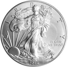 2016 American Silver Eagle 1 oz. .999 fine silver BU Coin beauty.........