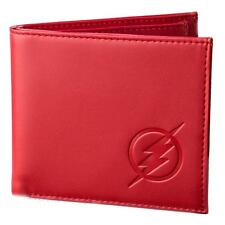The Flash Logo Red Embossed Wallet - DC Comics Universe
