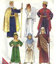 McCall's Sewing Pattern Christmas Nativity Story Costumes 2340 Size Child 8-10