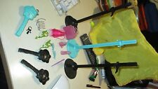 MONSTER HIGH DOLL  STANDS AND ACCESSORIES FOR DOLLS