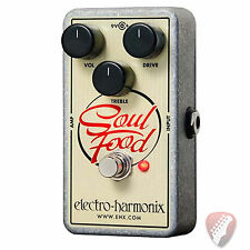 Electro-Harmonix EHX Soul Food Distortion Overdrive Guitar Effect Pedal