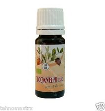 JOJOBA OIL ORGANIC UNREFINED RAW VIRGIN COLD PRESSED 10 ml