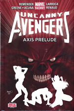 UNCANNY AVENGERS VOL #5 AXIS PRELUDE HARDCOVER Rick Remender Marvel Comics HC