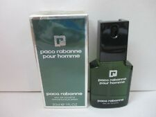 Paco Rabanne Pour Homme By Paco Rabanne EDT Spray Men 1 Fl oz  SEALED/DAMAGED