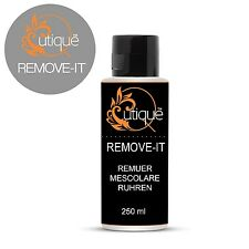 Qutique Gel Nail Polish/Acrylic Remover REMOVE IT -250ml Acetone Salon Quality