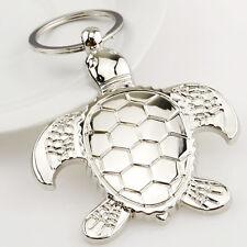New Sea Turtle Keyring Keychain Classic 3D Pendant Key Bag Car Key Chain Gift