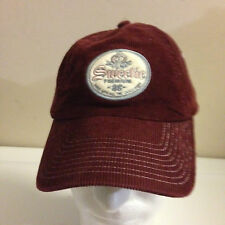 American Eagle Outfitters Corduroy Hat Sweetie Womens Dark Red Purple Cap
