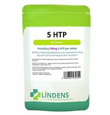 5-HTP 100mg 60 tablets depression anxiety insomnia weight loss migraine Pack 60
