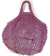 ECOBAGS® Market Collection Classic String Market Bags Tote Handle~Raspberry