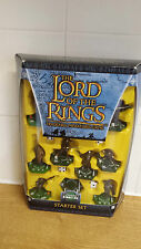 LORD OF THE RINGS COMBAT HEX STARTER SET TRADEABLE MINIATURES GAME NEW