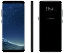 "New Imported Samsung Galaxy S8 Duos 64GB 4GB 5.8"" Octa-Core 4G LTE  Black Color"
