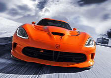 2014 DODGE SRT VIPER NEW A3 CANVAS GICLEE ART PRINT POSTER FRAMED