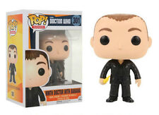 "EXCLUSIVE NINTH DOCTOR WHO WITH BANANA POP 3.75"" VINYL FIGURE FUNKO"