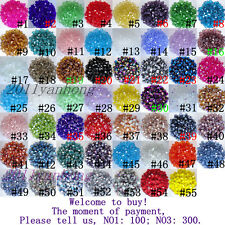 Free shipping 1000 PCS swarovski crystal 4 mm 5301 Bicone Beads #2