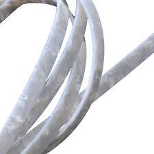 5 Pcs 0.24inch width Guitar Celluloid Binding Purfling Strip white pearl 5