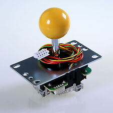 Original SANWA JLF-TP-8YT Joystick with Yellow Ball Top Handle for MAME JAMMA