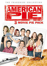 American Pie: 3 Movie Pie Pack (DVD, 2005, 3-Disc Set, R-rated version/Full...