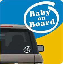 """1 ADESIVO STICKER """"BABY ON BOARD"""" AUTO,CINTURA,SICUREZZA,SEGGIOLINO,PREMAMAN"""