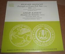 RICHARD DONOVAN Passacaglia / LESLIE BASSETT Variations - CRI SD 203 SEALED