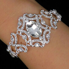 Twinkling Elegant Vintage Victorian Style Wedding Bridal Prom Party Bracelet