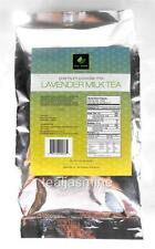 Tea Zone Lavender Milk Tea Premium Powder Mix Boba Bubble Tea 1.32 Lbs.