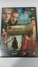 EL SECRETO DE LOS HERMANOS GRIMM DVD MATT DAMON HEATH LEDGER BELLUCCI NEW NUEVA