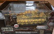 Early, rare forces of valor 1:32 scale. GERMAN TIGER TANK, Germany 1945