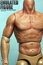 █ ZC Toys 2.0 Muscular Body 1/6 for Custom Head Sculpt Narrow Shoulder TTM19 Hot