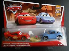 DISNEY PIXAR CARS HHPC LIGHTNING MCQUEEN SALLY WITH TABLE 2 PACK 2013 SAVE 5%