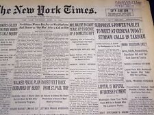1932 APRIL 21 NEW YORK TIMES - STIMSON CALLS IN TARDIEU - NT 4010