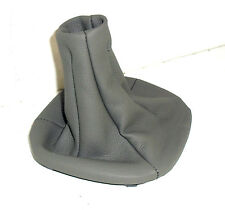 FIAT PANDA HEADPHONE GEAR LEVER REAL LEATHER GRAY FROM 2003 AL 2012
