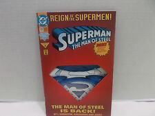 Reign Of Supermen! The Man Of Steel Is Back! #22 Bagged And Boarded 1993!