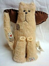 """""""Ragamuffins"""" 8"""" SHAGGY KITTY CAT ANGEL DOLL by Interior Accents"""