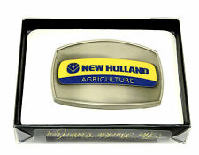 New Holland Agriculture Belt Buckle Tractor Farmer Spec Cast Officially Licensed