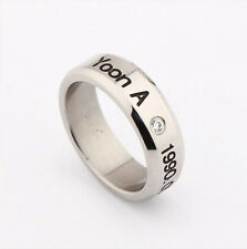 SNSD girls Generation Yoon A STAINLESS STEEL RING NEW FREE SHIPPING