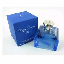 RALPH BLUE 4.2 OZ EDT SPRAY FOR WOMEN BY RALPH LAUREN & NEW IN A BOX