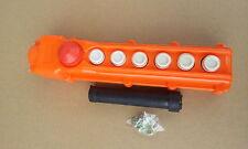1 Stück Kranschalter 6 Taster,Not Aus , gegeneinander verriegelt ETCOB65H
