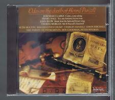 JEREMIAH CLARKE CD NEW ODES ON THE DEATH OF HENRY PURCELL