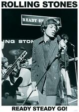 "ROLLING STONES POSTER ""READY STEADY GO"""