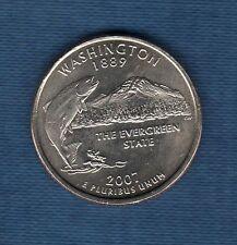 Etats Unis - Quarter Dollar - 2007 Washington série des Etats Neuve Rouleau
